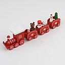 お買い得  クリスマス向けおもちゃ-クリスマスデコレーション / クリスマスギフト / クリスマス向けおもちゃ 電車 / 汽車 休暇 / トレーン 子供 雪だるま 木製 子供用 / 成人 ギフト 1 pcs
