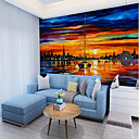 cheap Wall Murals-Mural Canvas Wall Covering - Adhesive required Art Deco / Pattern / 3D