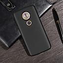 זול מגנים לטלפון & מגני מסך-מגן עבור מוטורולה Moto G6 Play / Moto G6 Plus מובלט כיסוי אחורי אחיד רך TPU ל MOTO G6 / Moto G6 Play / Moto G6 Plus