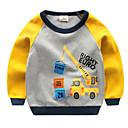 ieftine Set Îmbrăcăminte Băieți Bebeluși-Bebelus Băieți De Bază Geometric Manșon Lung Hanorac / Copil