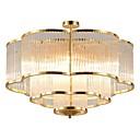 cheap Ceiling Lights-QIHengZhaoMing 10-Light Crystal Chandelier Ambient Light 110-120V / 220-240V, Warm White, Bulb Included / 15-20㎡