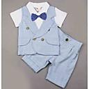 ieftine Top Băieți Bebeluși-Bebelus Băieți Activ Dungi Manșon scurt Set Îmbrăcăminte / Copil