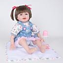 povoljno Lutkice-FeelWind Autentične bebe Za ženske bebe 22 inch vjeran Prirodni ton kože Dječjom Djevojčice Igračke za kućne ljubimce Poklon