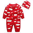 ieftine Set Îmbrăcăminte Bebeluși-Bebelus Unisex Activ Imprimeu Manșon Lung Poliester O - piesă Roșu-aprins 90