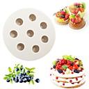 billige Kjøkkenrengjøringsmidler-Bakeware verktøy Silikon Multifunksjonell / 3D / Kreativ Kjøkken Gadget For kjøkkenutstyr Cake Moulds 1pc