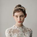 baratos Acessórios de Cabelo-Imitação de Pérola Headbands com Flor 1 Peça Casamento / Festa / Noite Capacete