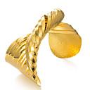 cheap Bracelets-Women's Sculpture Bangles / Cuff Bracelet - Gold Plated Ethnic Bracelet Gold For Party / Gift