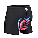 cheap Running Shirts, Pants & Shorts-Malciklo Men's Cycling Under Shorts Bike Underwear Shorts / Padded Shorts / Chamois Quick Dry, Anatomic Design, Breathable Polyester Black Bike Wear / Stretchy