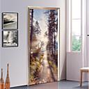 tanie Naklejki ścienne-Dekoracyjne naklejki ścienne / Naklejki na drzwi - Świąteczne naklejki ścienne Kształty / 3D Salon / Sypialnia
