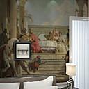 abordables Murales-Mural Lona Revestimiento de pared - adhesiva requerida Art Decó / Patrón / 3D