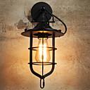 رخيصةأون أضواء السقف والمعلقات-ضد الانعكاس أنتيك مصابيح الحائط غرفة الجلوس / الخارج معدن إضاءة الحائط 220-240V 40 W / E27