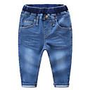 ieftine Pantaloni Băieți-Copii Băieți De Bază Mată Poliester Pantaloni Albastru piscină 100