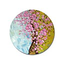 cheap Floral/Botanical Paintings-Oil Painting Hand Painted - Floral / Botanical Comtemporary / Modern Canvas