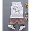 ieftine Set Îmbrăcăminte Băieți Bebeluși-Bebelus Băieți Geometric Fără manșon Set Îmbrăcăminte