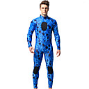 cheap Wooden Puzzles-MYLEDI Men's Full Wetsuit 3mm Neoprene Diving Suit Thermal / Warm Long Sleeve Back Zip - Swimming / Diving Camouflage Spring / Summer / Fall