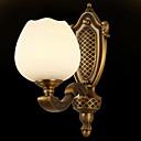tanie Kinkiety Ścienne-Antyrefleksyjny Antyczny Lampy ścienne Salon / Korytarz Metal Światło ścienne 220-240V 40 W / E27