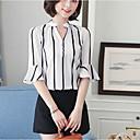 abordables Anillos para Hombre-Mujer Básico / Chic de Calle Estampado Blusa Geométrico