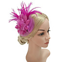 povoljno Party pokrivala za glavu-Žene Kentucky Derby Vintage Elegantno Tekstil Kubični Zirconia Šeširi Ukosnice Party Formalan - Jednobojni / Sva doba