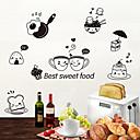 preiswerte Wand-Sticker-Dekorative Wand Sticker / Kühlschrank Sticker - Tier Wandaufkleber Tiere Wohnzimmer / Schlafzimmer / Badezimmer