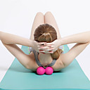 baratos Equipamentos & Acessórios Fitness-Rolo de Massagem com Duas Esferas Com 1 pcs TPE Massgem Para Ioga / Exercício e Atividade Física / Ginásio