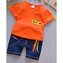 ieftine Top Bebeluși-Bebelus Unisex Imprimeu / Peteci Manșon scurt Set Îmbrăcăminte