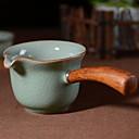 זול ספלים וכוסות-חַרְסִינָה Heatproof 1pc כוסות תה