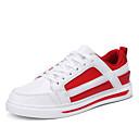 povoljno Muške tenisice-Muškarci PU Ljeto Udobne cipele Sneakers Color block Obala / Crvena / Crno-bijeli