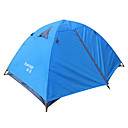 cheap Tents, Canopies & Shelters-2 person  Outdoor Backpacking Tent Windproof Waterproof Portable Ultra Light (UL) Breathability Dust Proof Foldable Flannel lined Anti-Mosquito Poled Dome One Room Double Layered Camping Tent  for