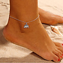 cheap Body Jewelry-Anklet - Elephant, Animal Simple Silver For Daily Street Going out Women's