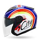 ieftine Căști & Măști de Protecție-YOHE YH-868 Cască Deschisă Adulți Unisex Motociclete Casca Respirabil / Deodorant / Anti-sudoare