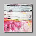 cheap Rolled Canvas Paintings-Oil Painting Hand Painted - Abstract Comtemporary / Modern Canvas