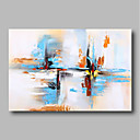 cheap Prints-Oil Painting Hand Painted - Abstract Comtemporary / Modern Canvas