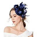 cheap Party Headpieces-Women's Vintage / Elegant Headband / Hair Clip / Fascinator - Solid Colored Bow