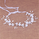 cheap Party Headpieces-Imitation Pearl Headbands with Acrylic / Faux Pearl 1 Piece Wedding / Special Occasion Headpiece