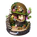 preiswerte Rechenschieber-Puppenhaus Exquisit / Musik & Licht Blumen / Romantik 1 pcs Stücke Junior Geschenk