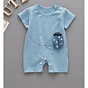 ieftine Baby Boys' One-Piece-Bebelus Băieți Imprimeu Mânecă scurtă Salopetă