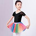 preiswerte Ballettbekleidung-Ballett Balletröckchen und Röcke Mädchen Training / Leistung Polyester Horizontal gerüscht Hoch Röcke