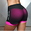 cheap Fitness, Running & Yoga Clothing-Women's With Inner Shorts Yoga Shorts Green Fuchsia Sports Mesh Bottoms Zumba Pilates Running Activewear Lightweight Quick Dry Butt Lift Stretchy Slim