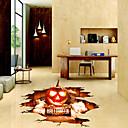 billige Veggklistremerker-Gulvklistremerker - 3D Mur Klistremerker Halloween / 3D Stue / Soverom / Baderom
