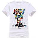 baratos Conjuntos para Meninos-Homens Camiseta Moda de Rua Letra