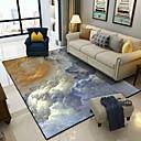 abordables Óleos-Las alfombras de área Casual / Modern Poliéster, Rectangular Calidad superior Alfombra