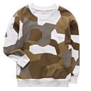 povoljno Džemperi i kardigani za dječake-Djeca Dječaci Aktivan Print Dugih rukava Pamuk Trenirka s kapuljačom