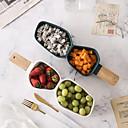 رخيصةأون صواني الخبز-1 قطعة الخزف / خزفي / خشب تصميم جديد / خلاق زبديات الطعام / صحون لتقديم الطعام / الطاسات وزجاجات, أواني الطعام