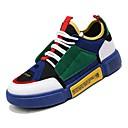 זול סניקרס לגברים-בגדי ריקוד גברים אור סוליות סינטטיים קיץ נוחות נעלי ספורט אפור / שחור אדום / ירוק וכחול