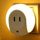 זול תאורה מודרנית-1pc LED לילה אור לבן חם עיצוב חדש 220-240 V