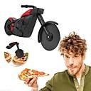 tanie Przybory kuchenne-motocyklowy nóż do pizzy nóż ze stali nierdzewnej nóż rolkowy krajalnica do pizzy