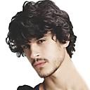 olcso Szerszámok és tartozékok-Férfi Emberi haj Hajpótlók Hullámos 100% kézi csomózású Puha