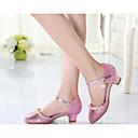 abordables Accesorios para el Cabello-Chica Zapatos PU Primavera & Otoño Zapatos para niña florista / Talones diminutas para los adolescentes Tacones para Dorado / Plateado / Rosa