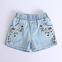 זול מכנסיים וטייץ לבנות-שורטים פרחוני בנות ילדים