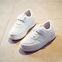 tanie Obuwie chłopięce-Dla chłopców / Dla dziewczynek Obuwie PU Wiosna Wygoda Adidasy Sznurowane na Biały / Czarny / Różowy